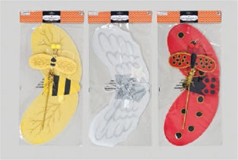 Picture of Jumbo Wings with Wand Child Costume Set (More Styles)