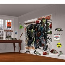 Picture of Zombie Scene Setter Decoration Kit