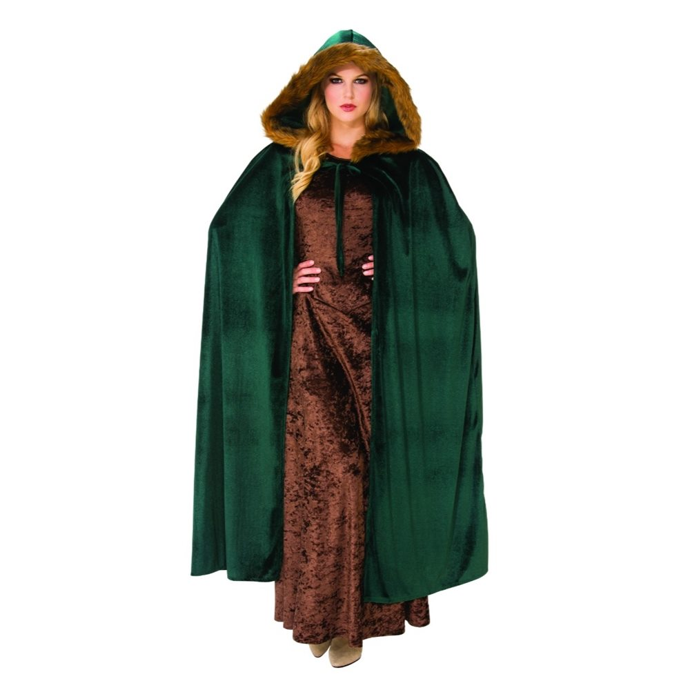 Picture of Woodland Green Hooded Cape