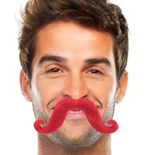 Picture of Red Handlebar Mustache