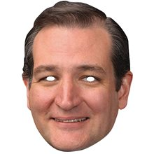 Picture of Ted Cruz Paper Mask