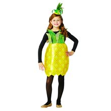 Picture of Pineapple Dress Child Costume