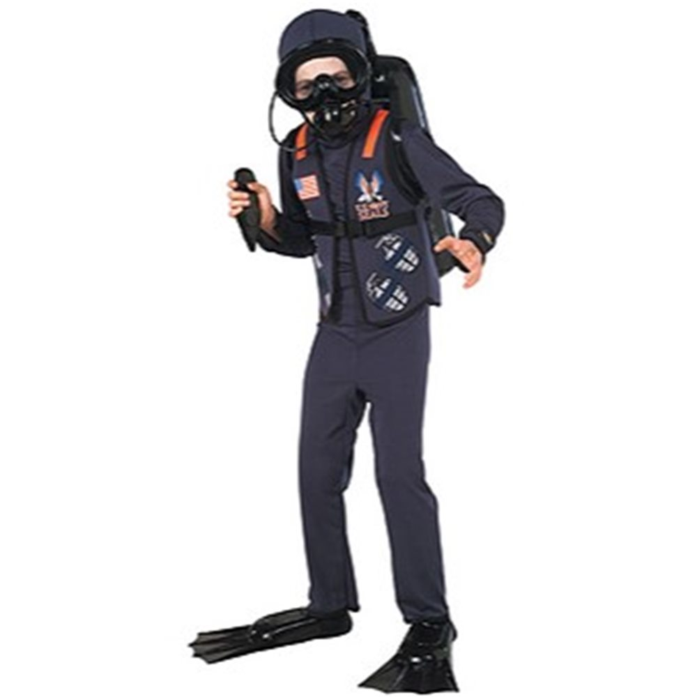Picture of US Navy Seal Child Costume Kit
