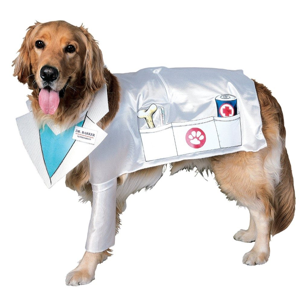 Picture of Dr. Barker Veterinarian Pet Costume