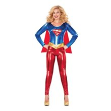 Picture of Supergirl Adult Womens Catsuit