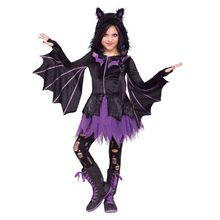 Picture of Night Flyer Bat Dress Child Costume