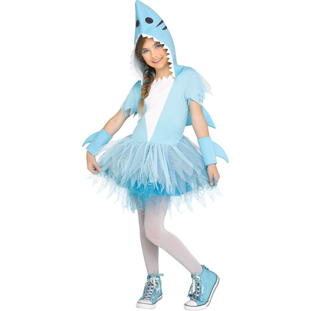 Picture of Shark Hooded Dress Child Costume
