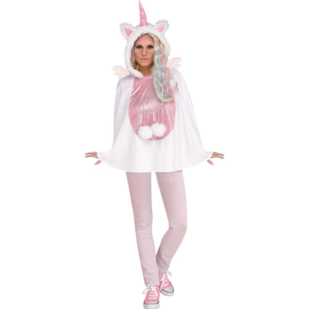 Picture of Unicorn Hooded Poncho