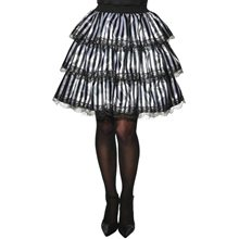 Picture of Gothic Striped Ruffle Skirt (Coming Soon)