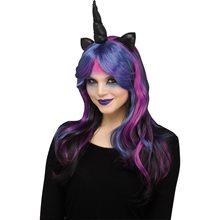 Picture of Dark Unicorn Wig