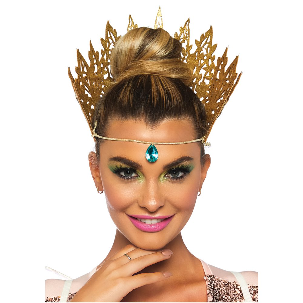 Picture of Gold Die Cut Crown with Jewels