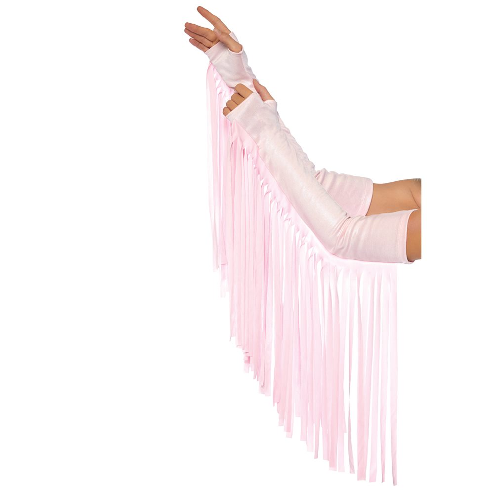 Picture of Pink Fringe Arm Pieces