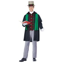 Picture of Holiday Caroler Adult Mens Costume