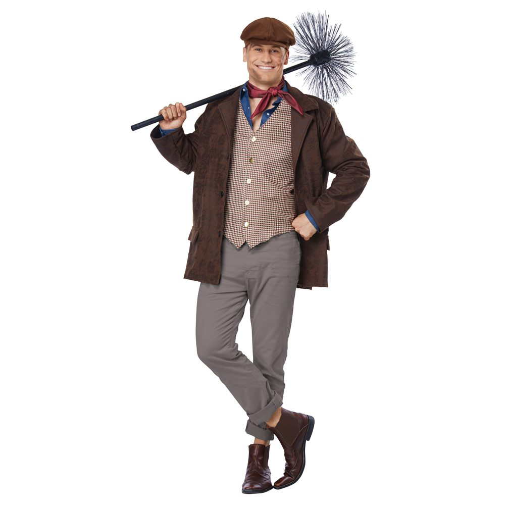 Picture of Chimney Sweeper Adult Mens Plus Size Costume