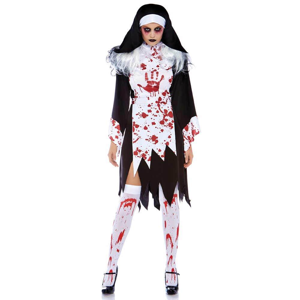 Picture of Killer Nun Adult Womens Costume