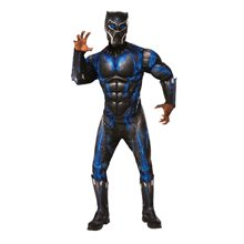 Picture of Black Panther Deluxe Battle Suit Adult Mens Costume