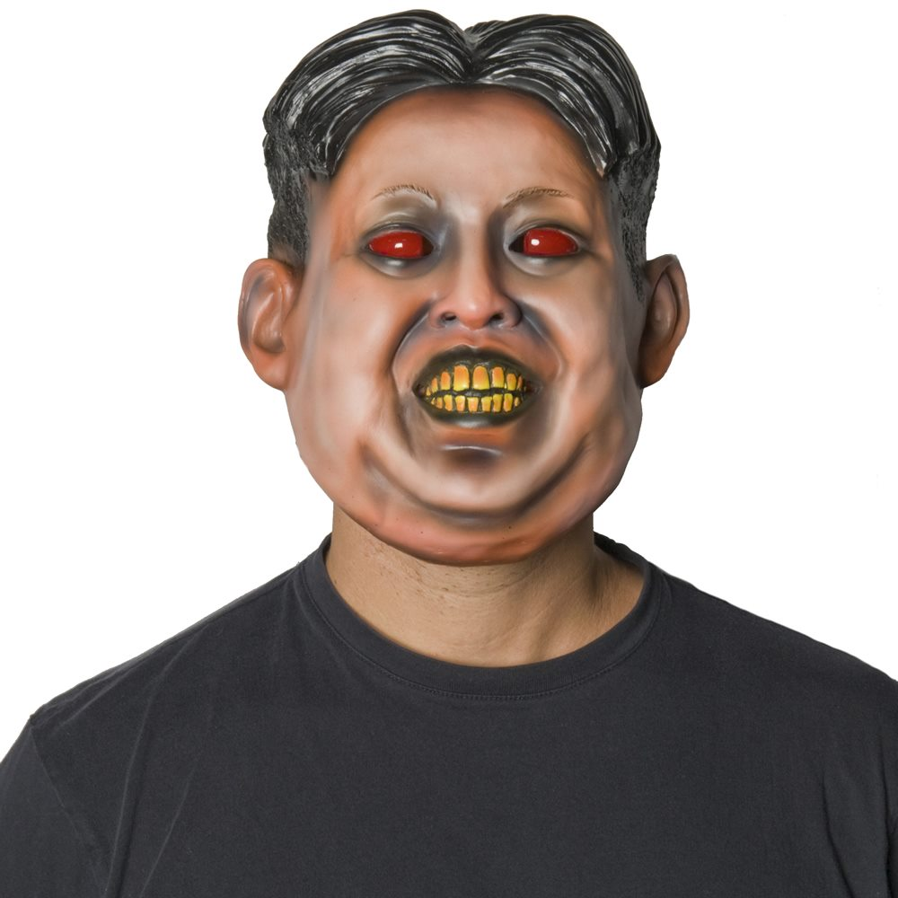 Picture of Loony Leader Latex Mask with Light-Up Eyes