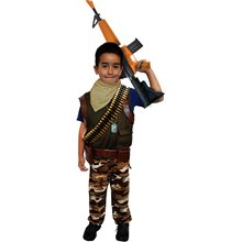 Picture of Fort Protector Camo Soldier Child Costume