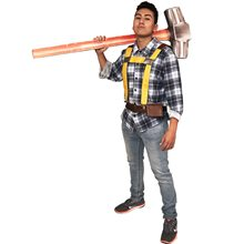Picture of Fort Protector Constructor Adult Mens Costume