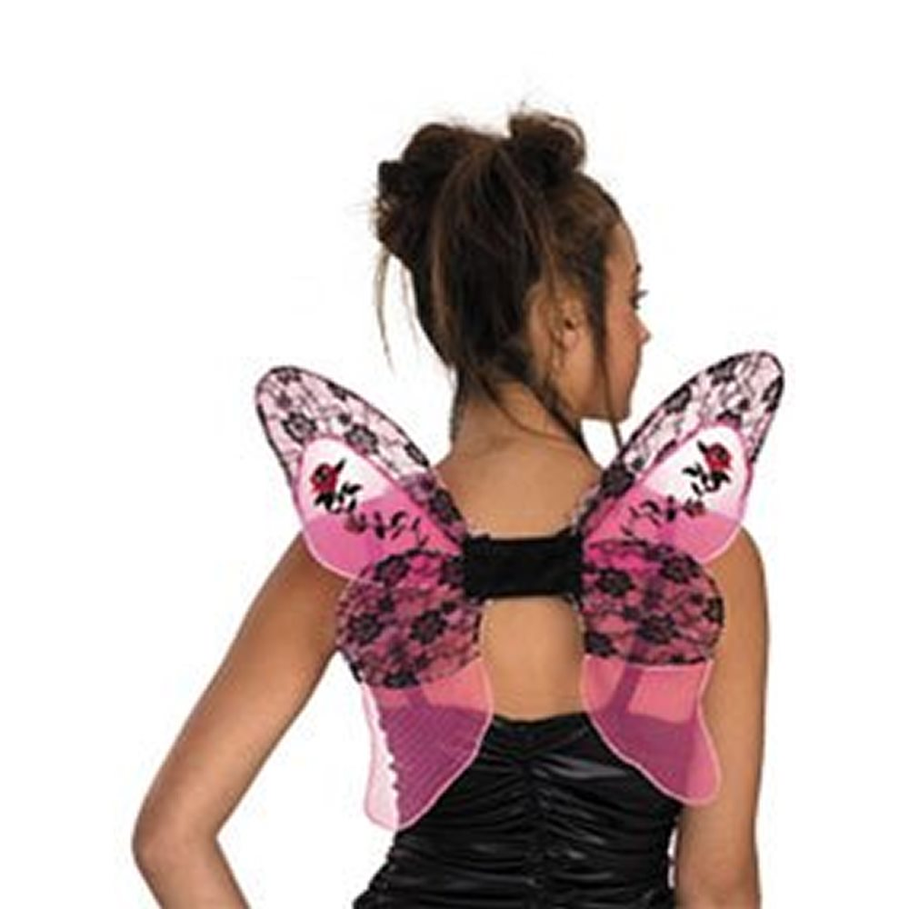 Picture of Pink & Black Charisma Wings