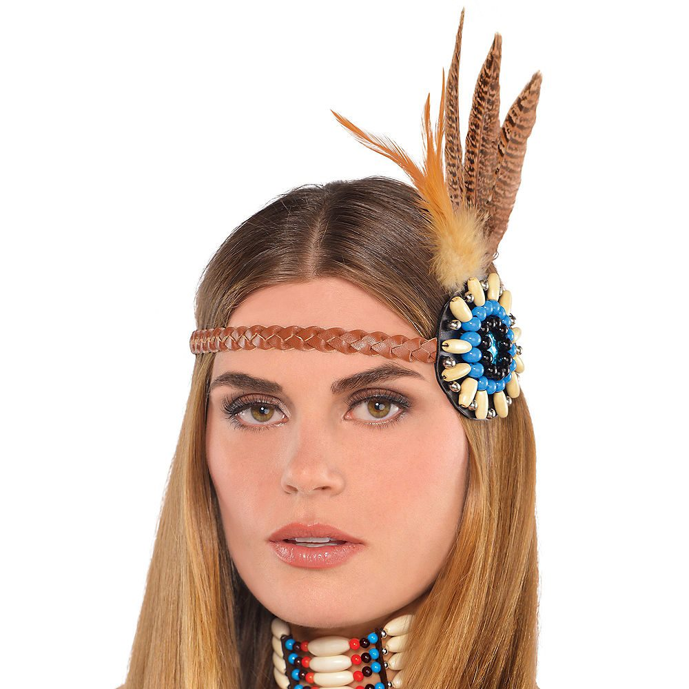 Picture of Dreamcatcher Feather Headband
