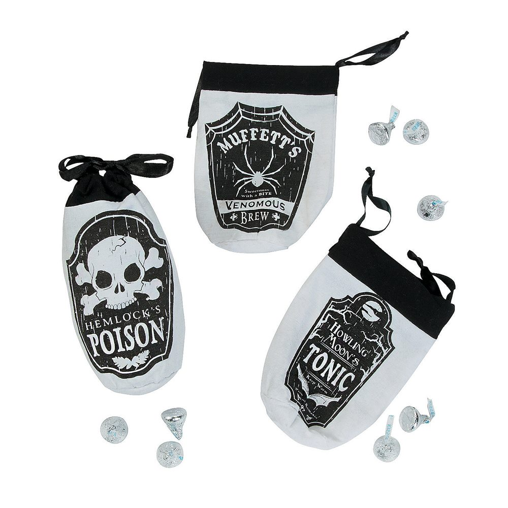 Picture of Small Apothecary Drawstring Bags