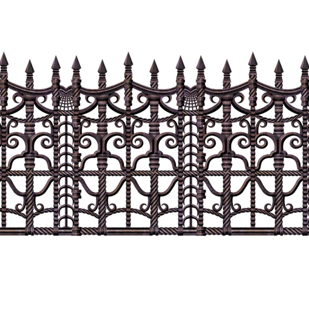 Picture of Creepy Fence Border Decoration