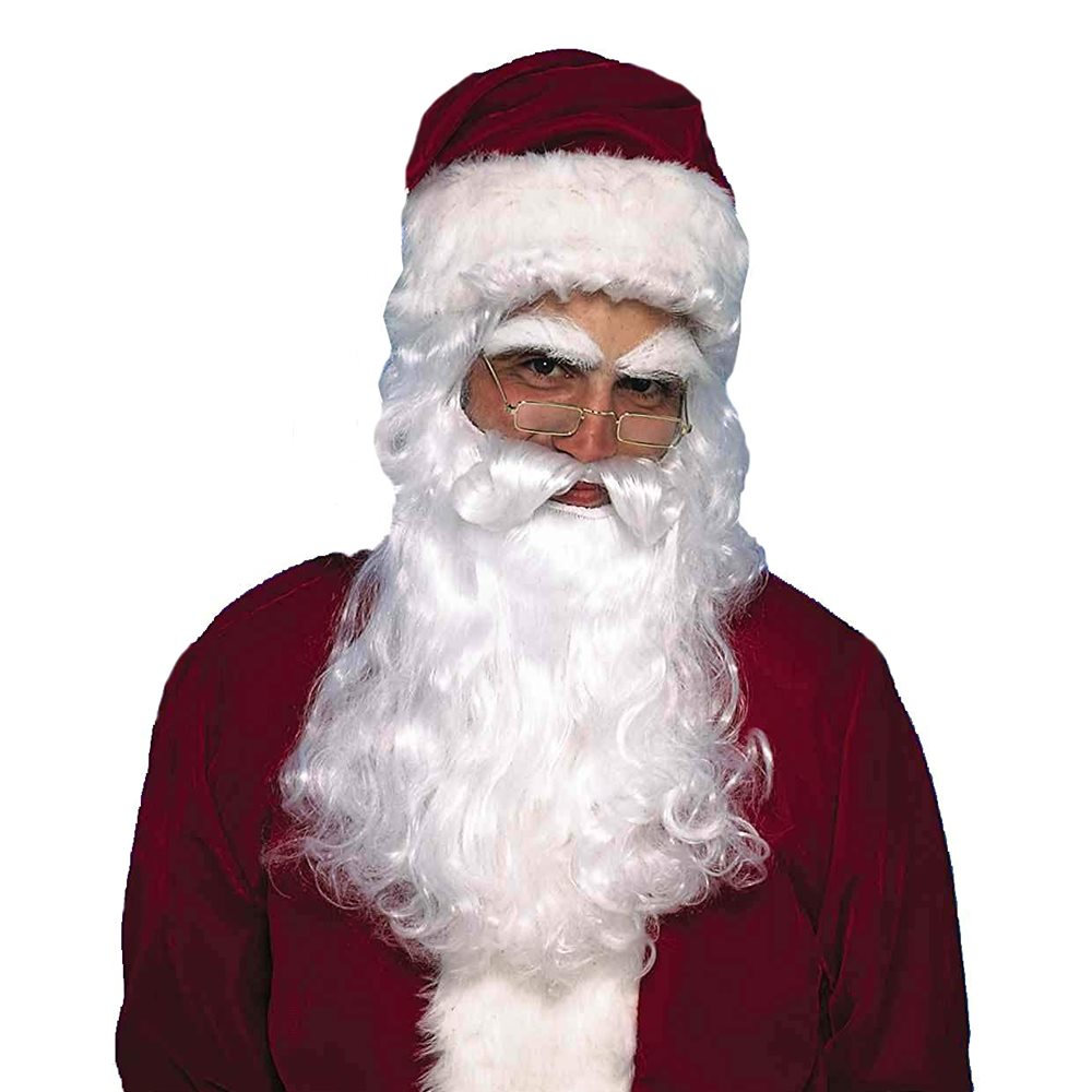 Picture of Santa Claus Classic Wig & Beard Set