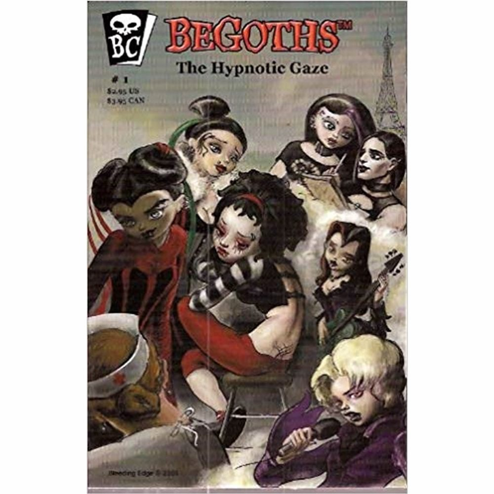 Picture of BeGoths Hypnotic Gaze Comic Book