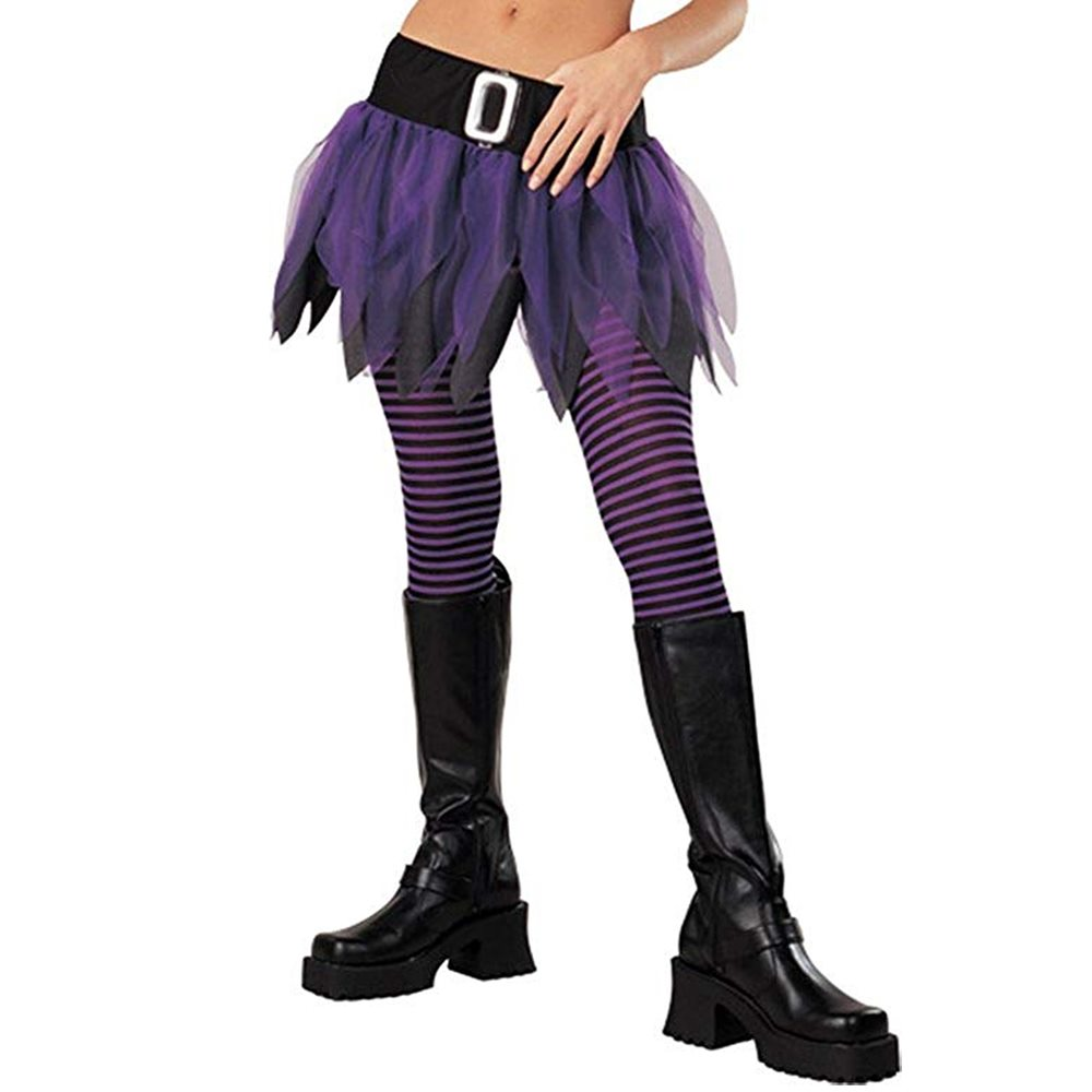 Picture of Witch Black & Purple Junior Tights