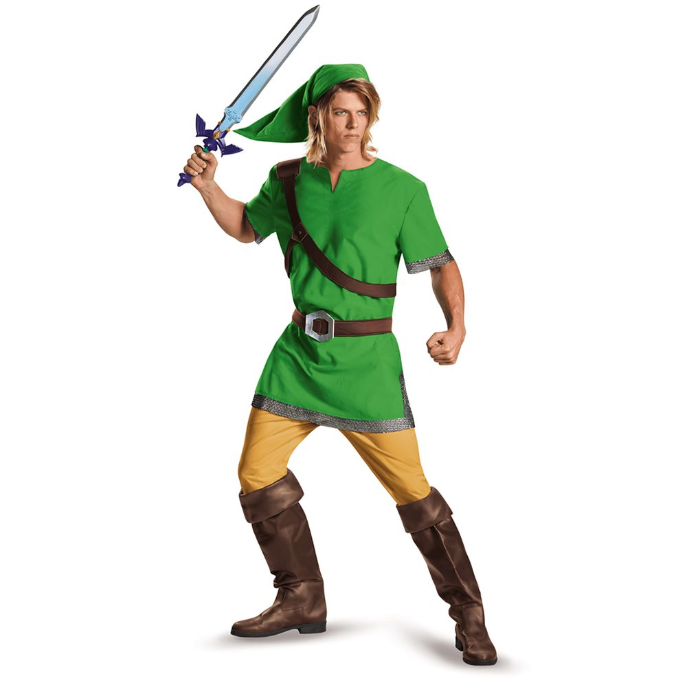 Picture of Zelda Classic Link Adult Mens Plus Size Costume