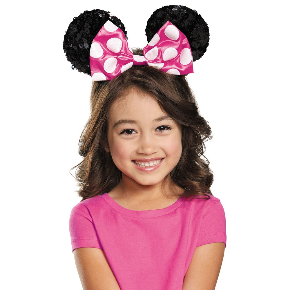 Picture of Pink Minnie Mouse Child Sequin Ears