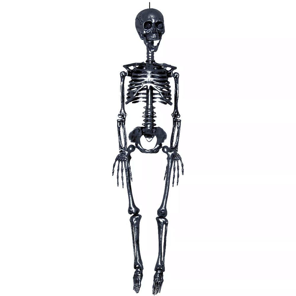 Picture of Black Realistic Plastic Skeleton 3ft