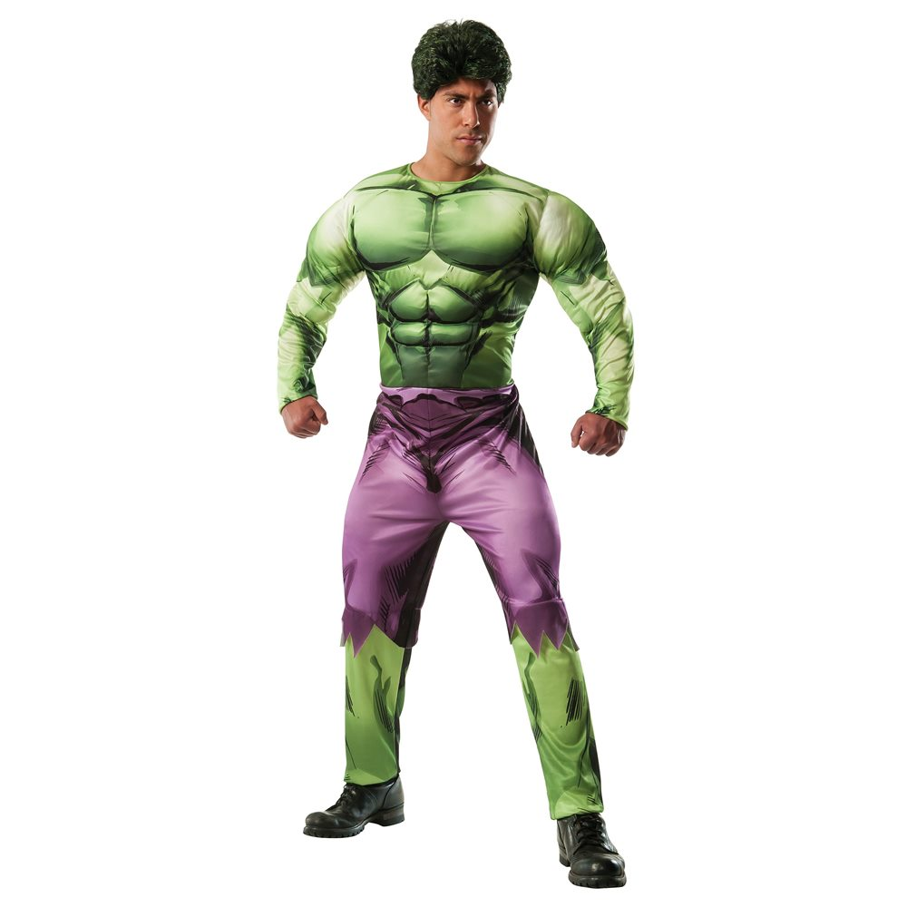 Picture of Hulk Deluxe Adult Mens Costume
