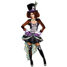Picture of Raving Hatter Madness Adult Womens Costume