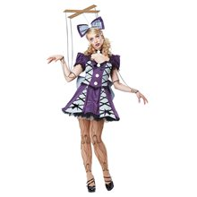 Picture of Marionette Doll Adult Womens Costume