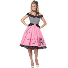 Picture of Nifty 50s Dress Adult Womens Costume