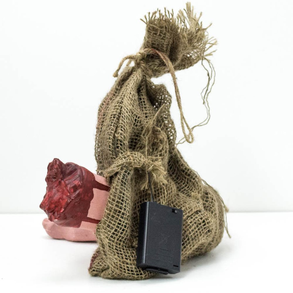 Picture of Hanging Bloody Foot in Bag