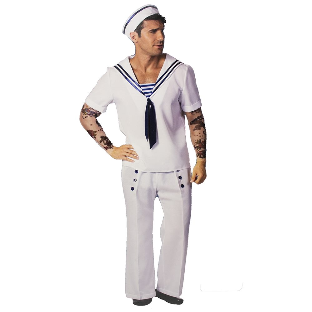 Picture of Inked Vintage Sailor Adult Mens Costume