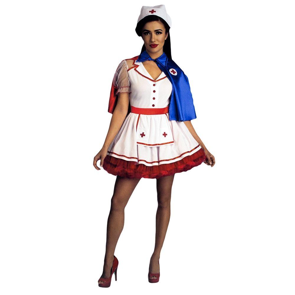 Picture of Romantic Nurse Adult Womens Costume