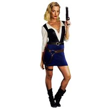 Picture of Sexy Intergalactic Smuggler Adult Womens Costume