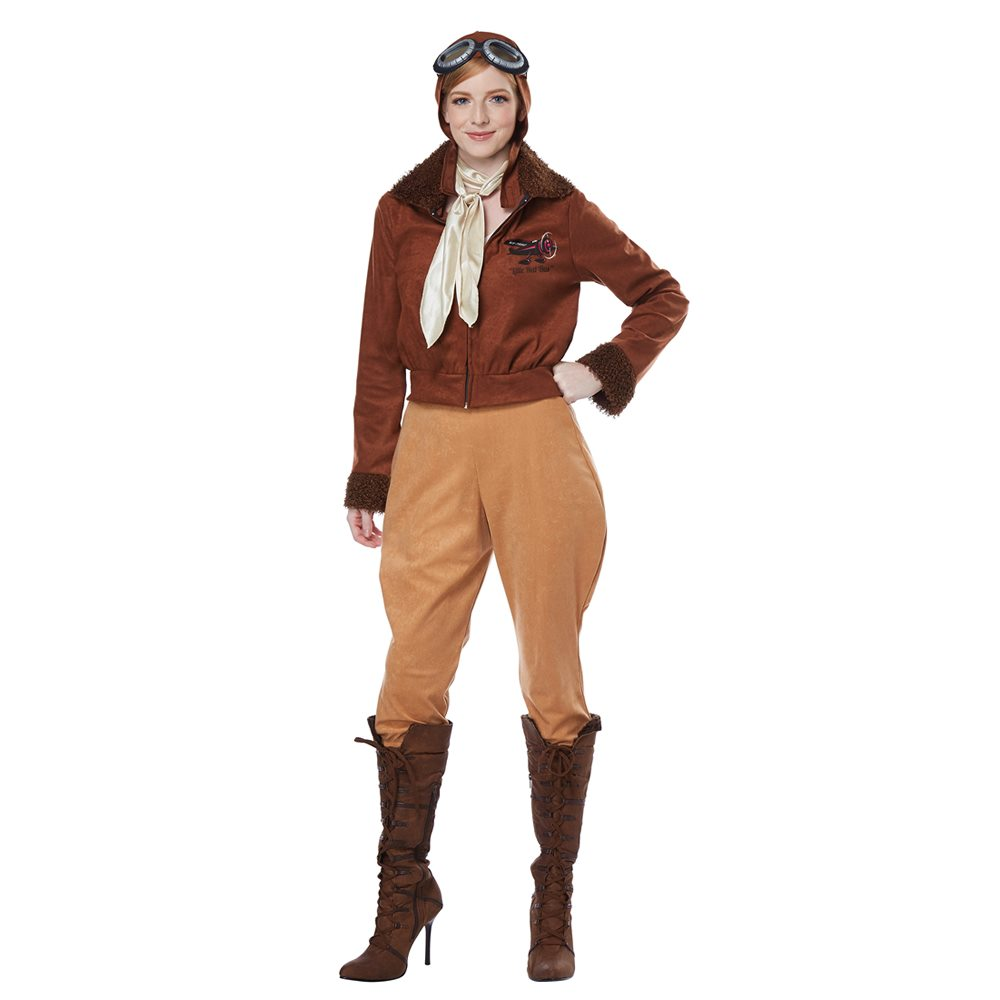 Picture of Amelia Earhart Aviator Adult Womens Costume