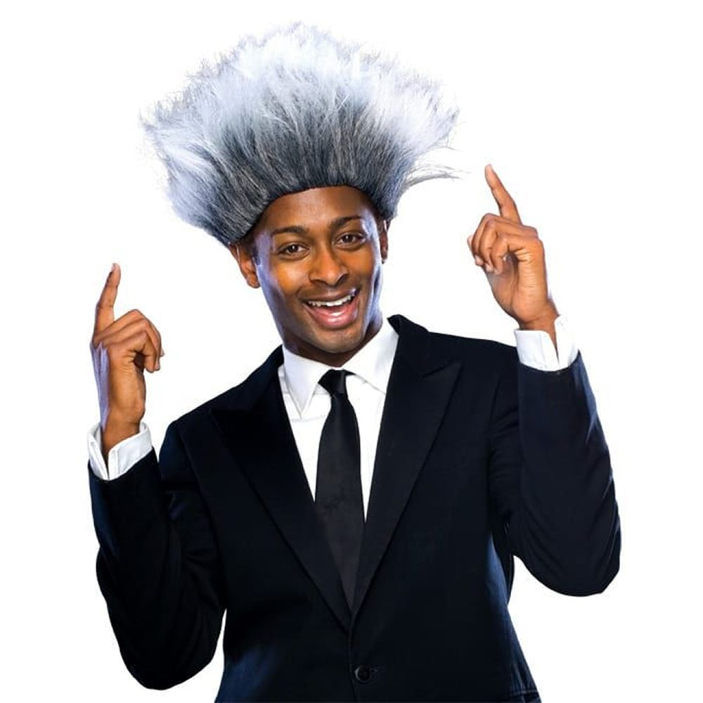 Picture of Grey Promoter Wig