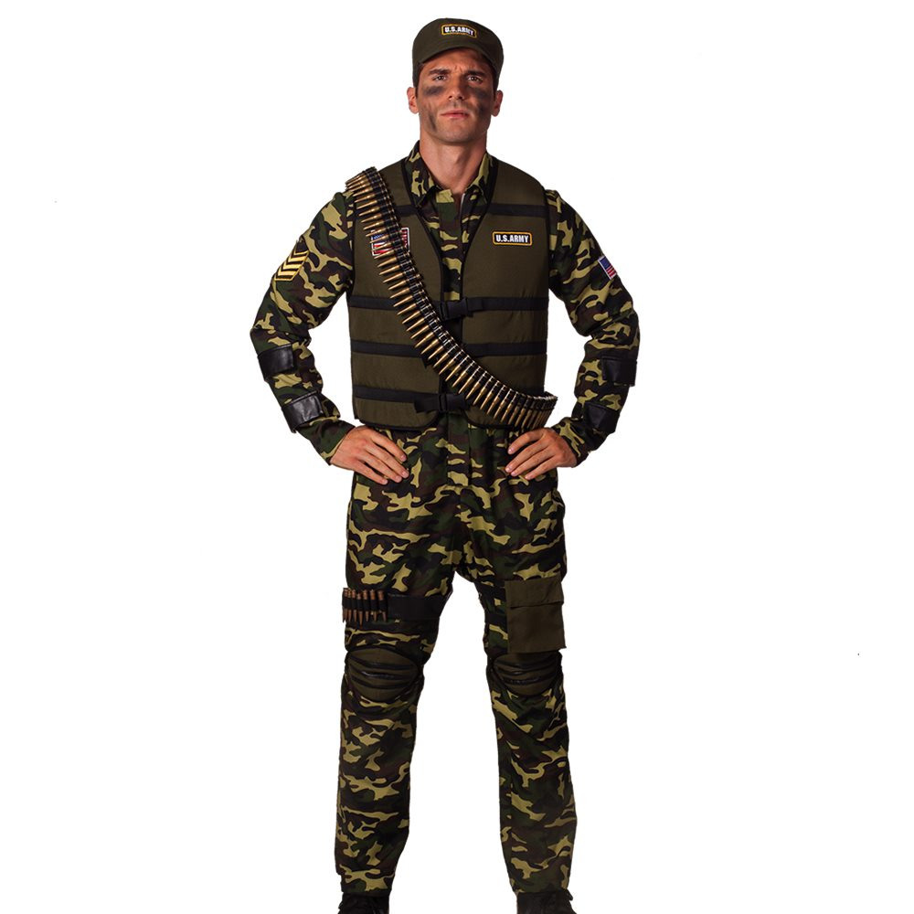 Picture of Combat Soldier Adult Mens Costume
