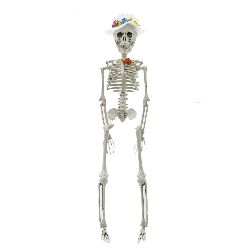 Picture of Mr. Flowers Skeleton Groom 16in