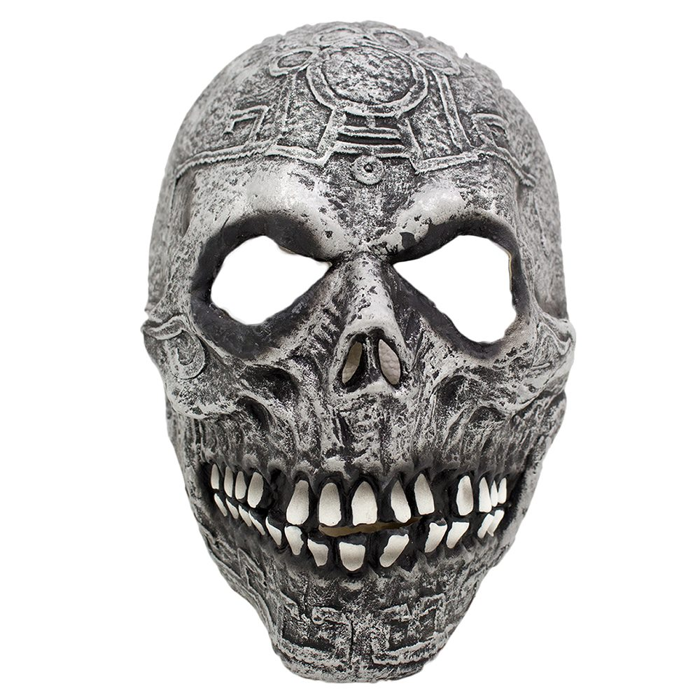 Picture of Prehistoric Ghoul Skull Latex Mask