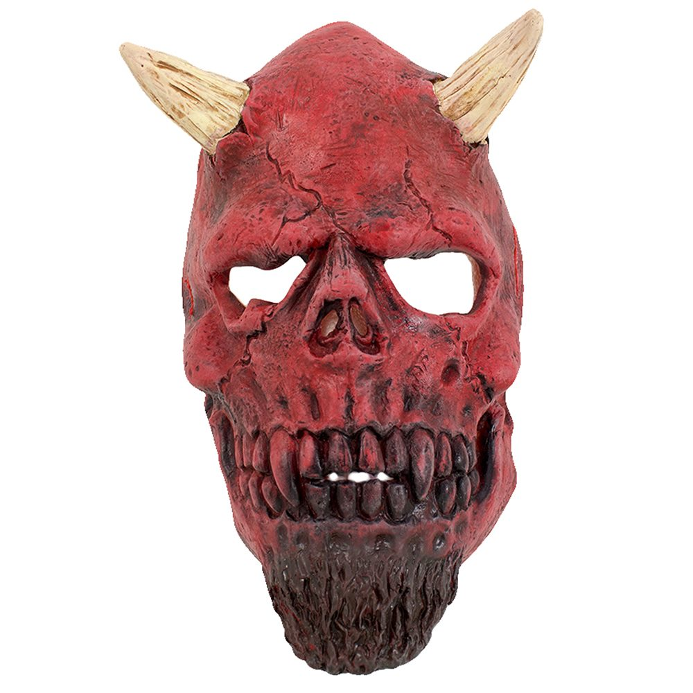 Picture of Bearded Devil Latex Mask
