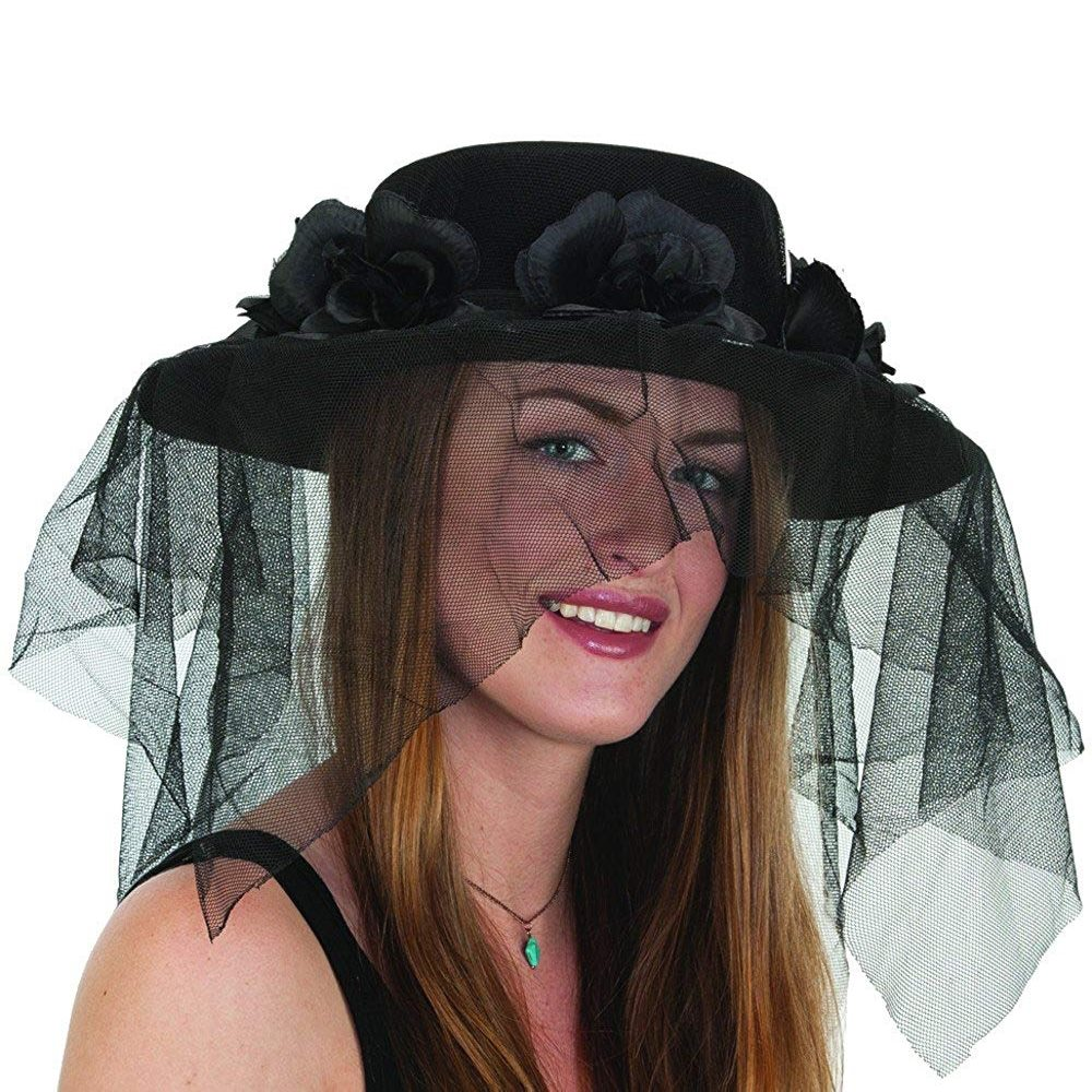 Picture of Spanish Catrina Hat with Veil
