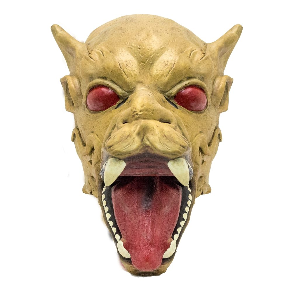 Picture of Golden Dragon Latex Mask