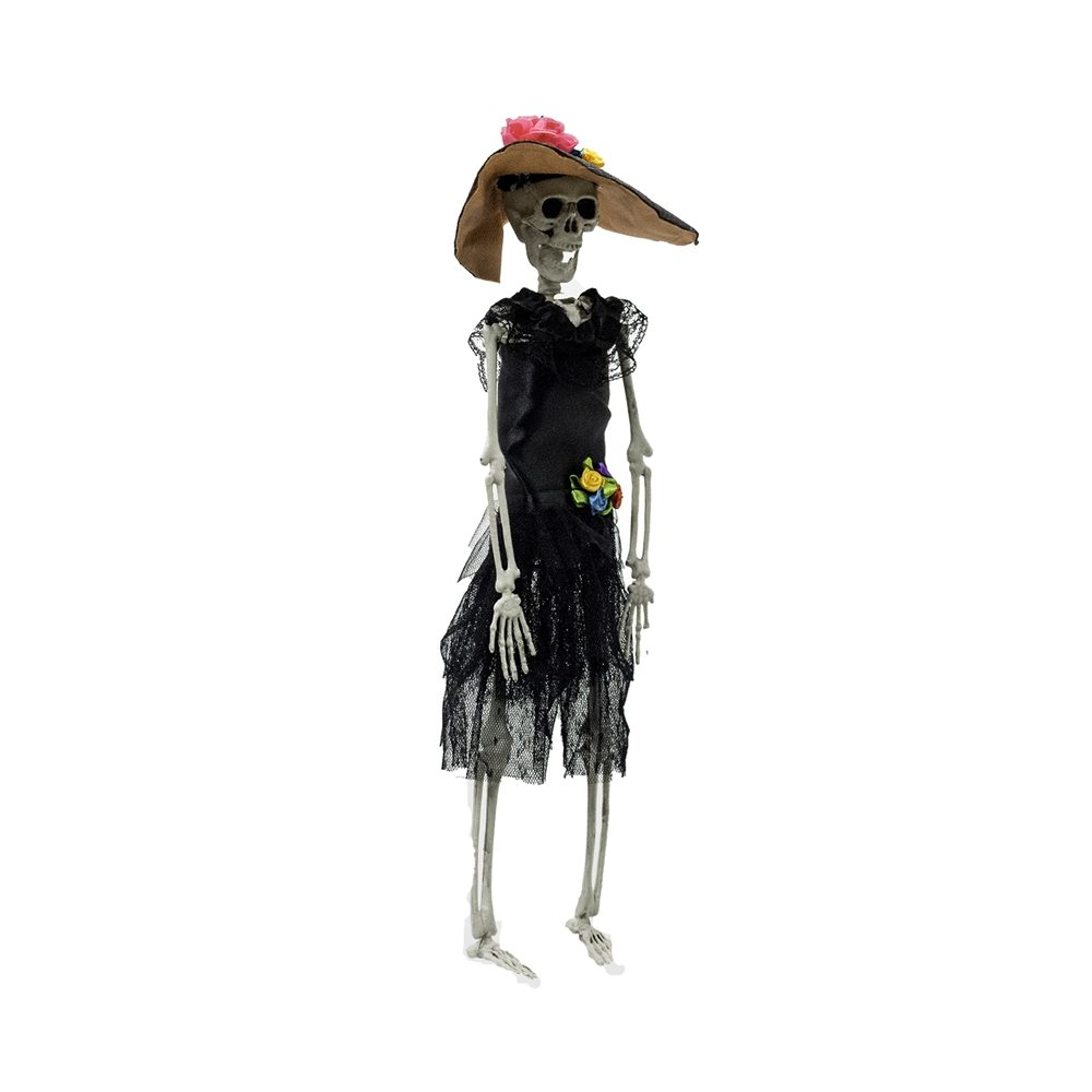 Picture of Day of the Dead Catrina Skeleton Prop